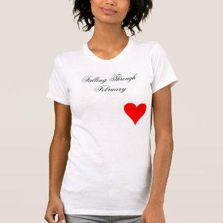 Camiseta Queda até fevereiro coração Tanktop