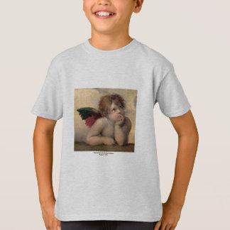 Camiseta Querubim de Sistine Madonna por Raphael