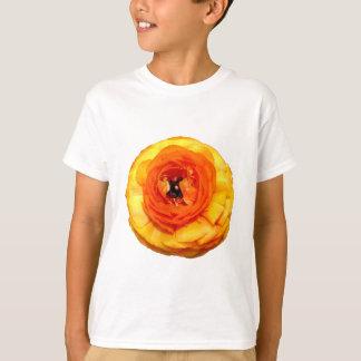 Camiseta Ranúnculo alaranjado