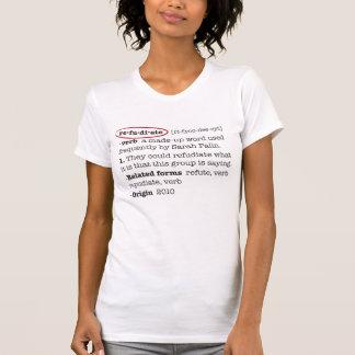 Camiseta Refudiate