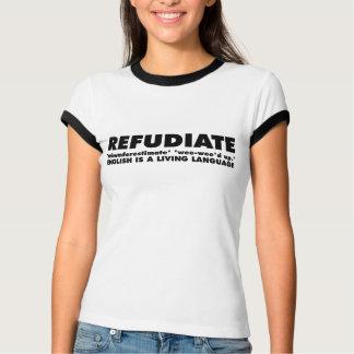Camiseta Refudiate com o bardo de Wasilla ShakesPalin
