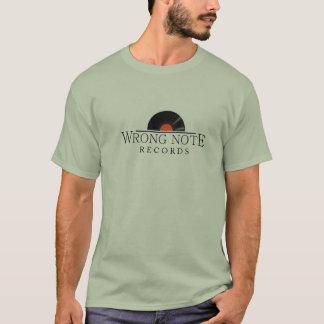 Camiseta Registros errados da nota