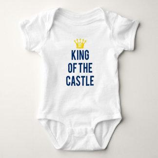 Camiseta Rei do T das crianças do castelo