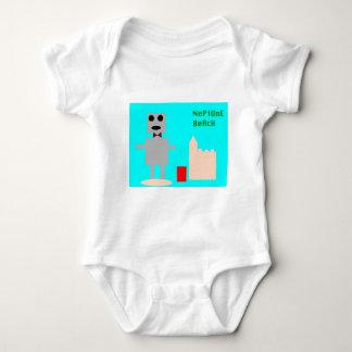 Camiseta Robô 1 da praia de Netuno