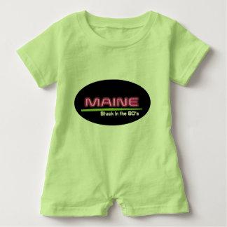 Camiseta Romper MAINE do bebê COLADO no anos 80