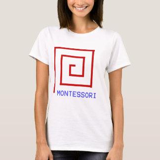 Camiseta Ros vermelhos Montessori