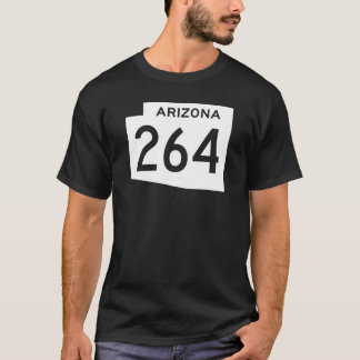 Camiseta Rota 264 do estado da arizona
