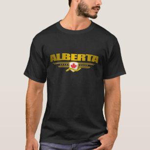 Camiseta Roupa da bandeira de Alberta