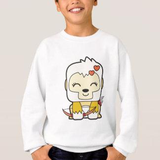 Camiseta Roupa de Okiiyo do botão de ouro
