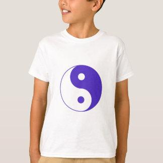 Camiseta Roxo Yin-Yang da lavanda