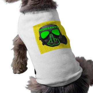 Camiseta Sacudir da máscara de gás de Monsanto da roupa do