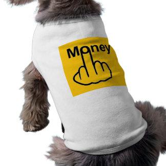 Camiseta Sacudir do dinheiro da roupa do cão