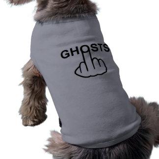 Camiseta Sacudir do fantasma da roupa do cão