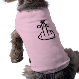 Camiseta Sacudir do óleo da roupa do cão