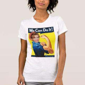 Camiseta Sarah Palin o rebitador - nós Dan fazemo-lo!