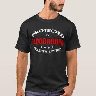Camiseta Segurança do cão do Bloodhound