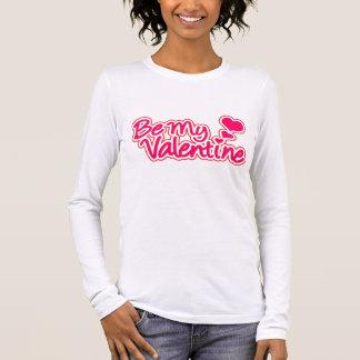 Camiseta Seja o T das minhas mulheres gráficas do rosa dos