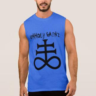 Camiseta Sem Manga Gainz ímpio