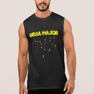Camiseta Sem Manga Major de Ursa Costellation