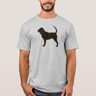 Camiseta Silhueta do Bloodhound
