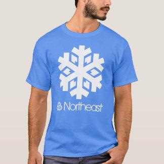 Camiseta Símbolo do nordeste do setor - floco de neve