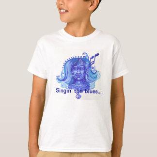 Camiseta Singin a menina dos azuis