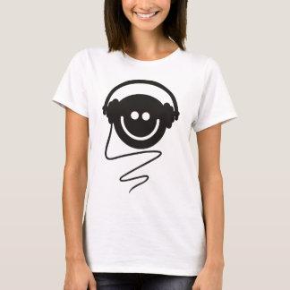 Camiseta Smiley da música