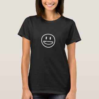 Camiseta Smiley das presas do vampiro