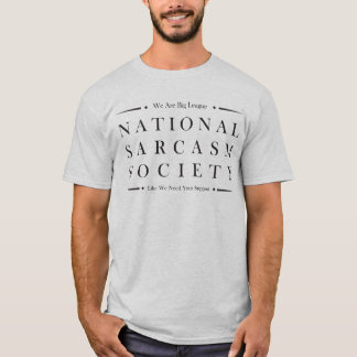 Camiseta Sociedade do sarcasmo