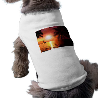 Camiseta south-island-565242. PALMA TROPICAL DA NOITE DA