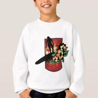 Camiseta Surfista com design tropical da flor