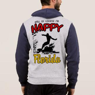 Camiseta Surfista feliz FLORIDA (preto)