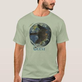 Camiseta T da excursão da procura (luz)