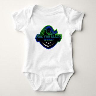 Camiseta T das portas copos do bebê