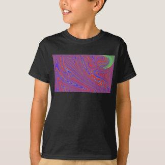 Camiseta T do derretimento do miúdo