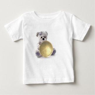 Camiseta T resistente do bebê do ursinho