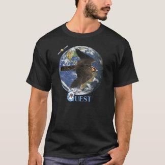 Camiseta T satélite da procura (escuro)