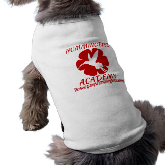 Camiseta T-shirt da academia do colibri para cães