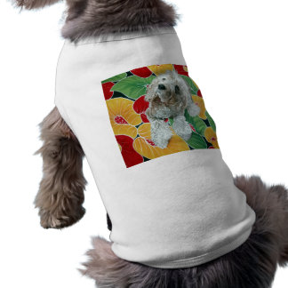 Camiseta T-shirt do cão do mel