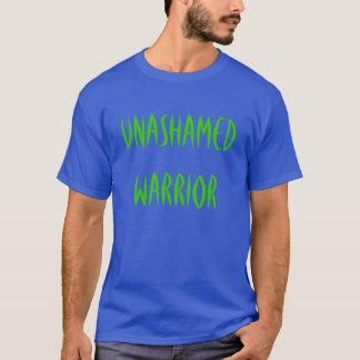 """Camiseta """"T-shirt do guerreiro Unashamed"""""""
