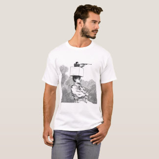 Camiseta T Shirt Guerra sem arma