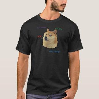 Camiseta Tal Doge.  Uau
