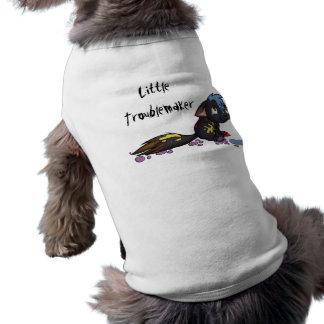 """Camiseta """"Tanque do animal de estimação do instigador peque"""
