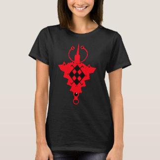 Camiseta Tasseghnast/Takhelkhalt vermelho