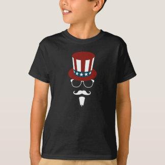 Camiseta Tio Sam do hipster