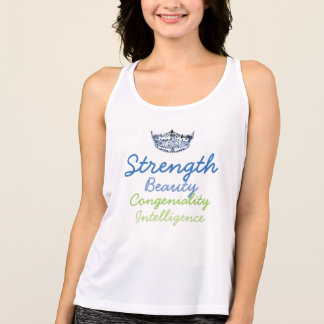 Camiseta Tipo Parte superior-Virtu da senhorita América do