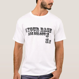 Camiseta Toda a base de Yor é nos pertence!!