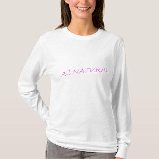 Camiseta TODA A luva longa T da marca NATURAL