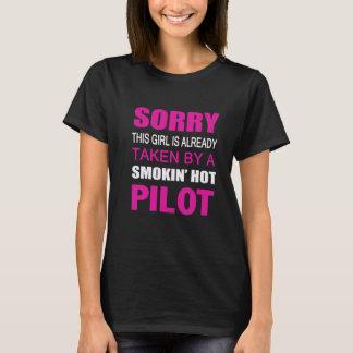 Camiseta Tomado por um piloto