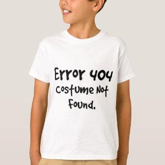 Camiseta Traje 404 não encontrado (texto preto)